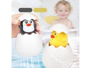 Hračky pre deti- hračky do vane tučnák alebo kuriatko- zábava pre deti