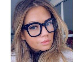 Pre ženy- Nedioptrické okuliare čierne NEW