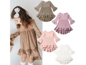 Pre deti- dievčenské roztomilé letné šaty viac farieb