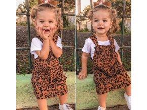 Detské oblečenia- Dievčenské letné krásne šaty AKCE