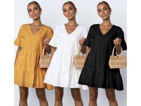 Pohodlné dámske plážové letné šaty NEW