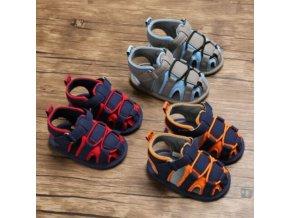Topánky- Detské roztomilé letné topánky pre chlapcov a dievčatá, sandále