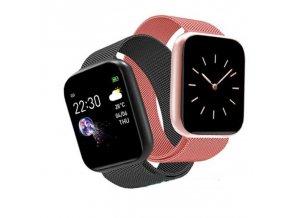 Chytré hodinky- Dámske chytré hodinky, fitnes náramok viac farieb
