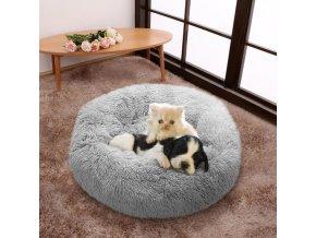 Pes-mačka - pelech pre psa- pelech pre mačku -viac farieb-priemer 40cm