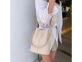 Dámska kabelka - kabelka s krokodílím vzorom - viac farieb - darček pre ženy