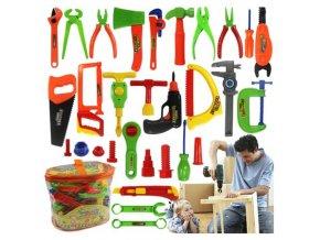 Deti - hračky - náradie - set náradie pre malých kutilov