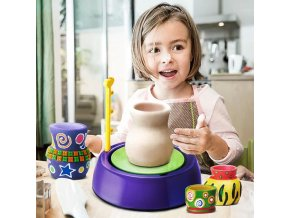 Deti - hračky pre deti - kreativita - hrnčiarstvo - detský hrnčiarsky prístroj - výpredaj skladu