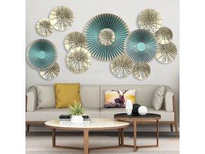 obývačka - dekorácie - tapeta - samolepky na stenu - nástenná dekorácia - samolepka na stenu s modernými vzormi