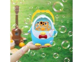 Deti - hračky pre deti - zábava - bublifuk - výrobník bublín v tvare tučniaka