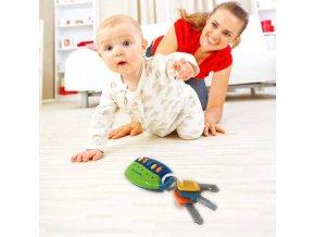 Hračka pre bábätká - hračky - hrkálka - hračka vydávajúca zvuky - kľúče - výpredaj skladu