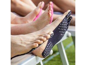 Ponožky - doplnky - samolepiace vodotesné ponožky - starostlivosť o nohy - darček k Vianociam