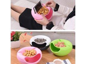 Kuchyňa - miska - odkladacia miska na telefón a jedlo - pozeranie na filmy -