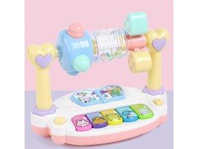Deti - hračky pre deti - hrkálka - vzdelávacie hračka pre najmenších s hrkálkou - výpredaj skladu