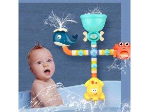 hračky - hračky do vane - kúpeľňa - detská sprcha do vane so zvieratami - darček pre deti - výpredaj skladu