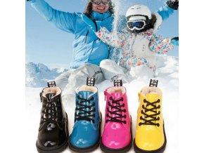 topánky - detské topánky - detské zimné topánky - štýlové zimné detské topánky - vianočné darčeky