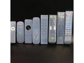 Televízia - diaľkové ovládače - obaly - silikónový obal na ovládače rôzne veľkosti - výpredaj skladu