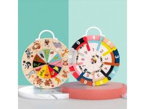 Hračky - drevený hračky - vzdelávacie hračky - hodiny - náučné hodiny - darčeky pre deti - vianočný darček