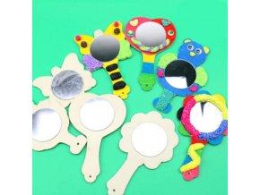 Hračky - detské tvorenie - zrkadlo - drevené zrkadlo na kreslenie - výpredaj skladu