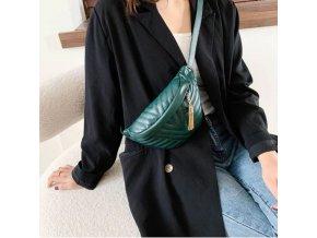 Dámské kabelky - dámská módní ledvinka přes rameno - ledvinka - kabelky - výprodej skladu