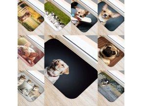 Predložka - rohožka - rohožka s potlačou psov - pes - dekorácie - koberec