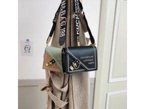 Kabelky - módna dámska kabelka zaujímavo riešená - dámska kabelka - crossbody - darček pre ženu