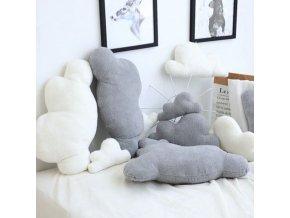Dekorácie - vankúš - roztomilý vankúš v tvare mraku - vankúše - dekoračné vankúše - detská izba