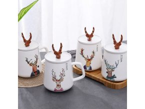 Kuchyňa - krásny vianočný hrnček vhodný ako darček - vianoce - hrnčeky - vianočné dekorácie