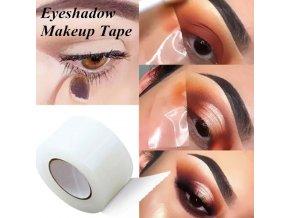 Kozmetika - pomocná lepiaca páska na líčenie tieňov - očné tiene - líčenie