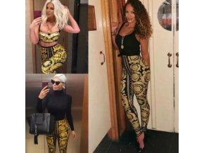 Oblečenie - dámske sexy módne legíny s vysokým pásom - dámske legíny - legíny - dámske nohavice - darček pre ženu