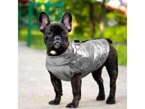 pes - psie oblečok - krásna lesklá vestička pre psíka - chovateľské potreby - pes - psie oblečky