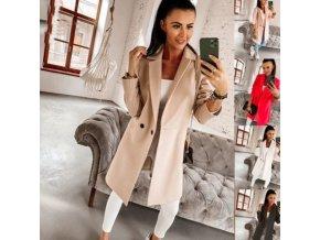 Oblečenie - kabát - dámsky ľahký elegantný kabát - dámsky kabátik - dámsky zimný kabát - darček pre ženy