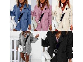 Oblečenie - dámsky elegantný módny sveter - dámsky sveter - kabát - darček pre ženu