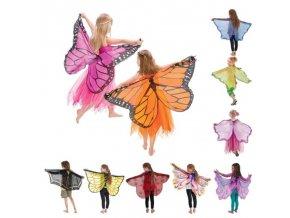Dětské oblečení - motýlí křídla ke kostýmu - dárek pro děti - hračky - vánoční dárek