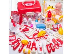 Hračky - detská lekárska súprava 30 ks - vianočný darček - hračky pre deti - výpredaj skladu