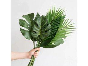 Dekorácie - umelé dekoračné listy do vázy - umelé kvety - umelá tráva - dekorácia do bytu