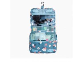 Taška - cestovná organizačné taška na kozmetiku - cestovanie - kozmetická taška - darček pre ženu
