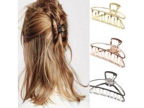 Spona - účes - škripec do vlasov v dvoch veľkostiach - škripec do vlasov - výpredaj skladu