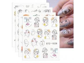 Nechty - sady dekoračných samolepiek na nechty - gélové nechty - modeláž nechtov - výpredaj skladu