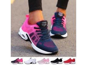 Topánky - dámske topánky - dámske športové tenisky vo viacerých farbách - tenisky - dámske tenisky