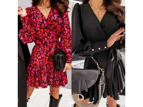 Oblečenie - šaty - dámske krásne módne šaty so zaväzovaním - letné šaty - dámske šaty - darček pre ženu