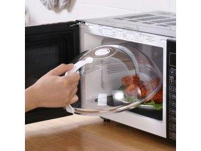 Kuchyňa - mikrovlnka - veko do mikrovlnnej rúry alebo na priklopenie jedlá - výpredaj skladu
