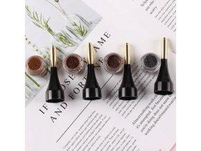 Kozmetika - dlhotrvajúci vodeodolný gél na obočie - farba na obočie - úprava obočia