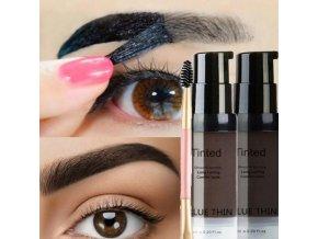 Kozmetika - úprava obočia - dlhotrvajúci gél so štetcom na obočie - farba na obočie