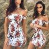 Dámske letné mini šaty s kvetmi NEW (Velikost L)