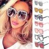 Luxusní dámské sluneční brýle s diamantovým efektem (Barva Zlatá)