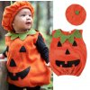 Halloween- detský set, kostým Tekvica (Velikost 12m)