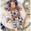 Detské oblečenie - Krásny detský set, mikina, tepláky NEW