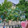 Hračky pre deti - fotoaparát - detský fotoaparát - bublifuk - bublifuk v tvare fotoaparáte vytvárajúce bubliny