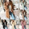 dámske oblečenie - kabát - dámsky zimný kabát - dámske kabáty - jesenné plyšový kabát vo viacerých farbách
