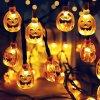 Halloween - halloween tekvica - tekvice - svetelná reťaz s dyňami - dekorácie
